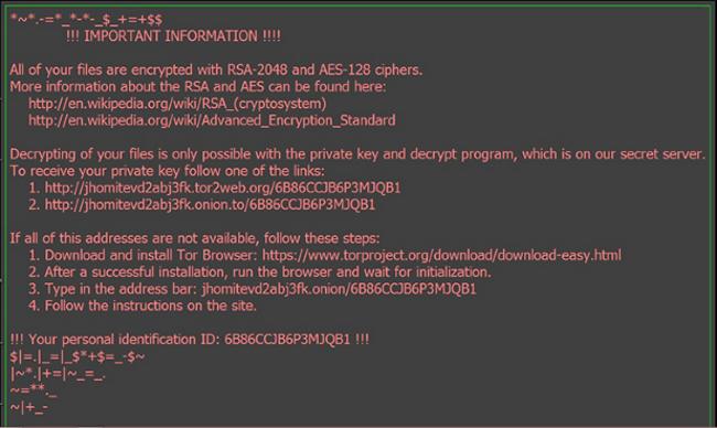 odin ransomware virus