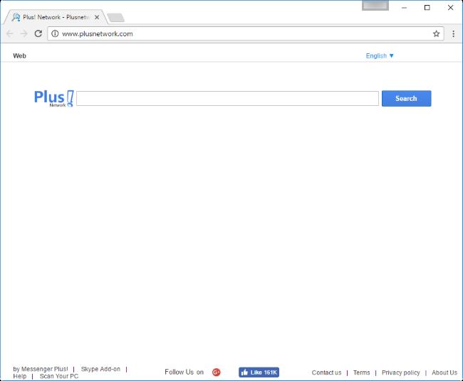 plusnetwork.com hijacker
