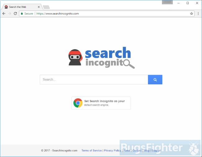 Searchincognito.com hijacker