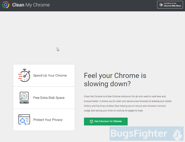 Clean My Chrome adware