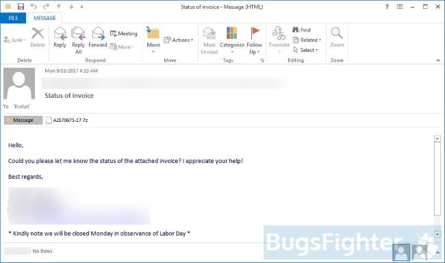 ykcol spam e-mail