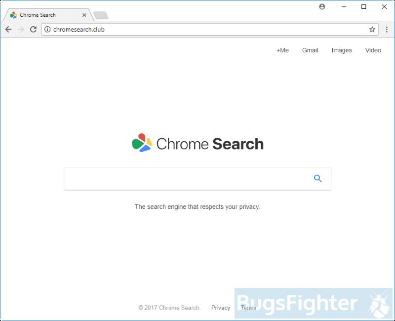 chromesearch.club hijacker