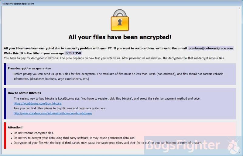 java ransomware